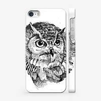 Чехол для iPhone 6 plus сова