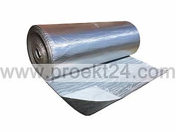 Вспененный каучук 8мм самоклеющийся с покрытием Алюхолст (утеплитель, шумоизоляция)