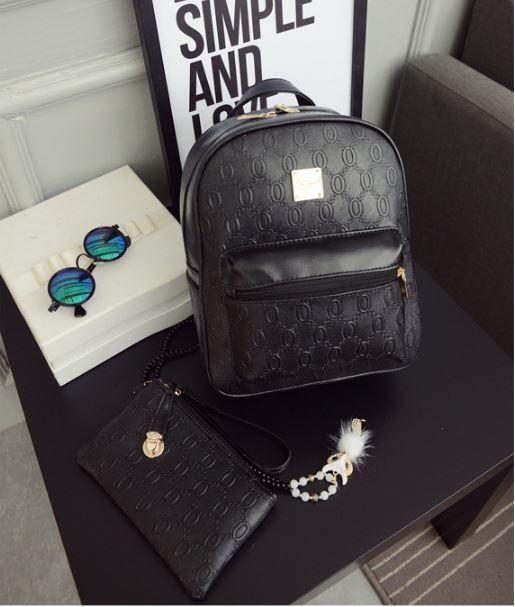 Женские рюкзаки с кошельком.