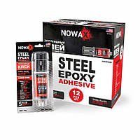 Эпоксидный клей (стальной) NOWAX (NX48409) 30 г.