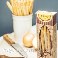 Натуральные хлебные палочки Гриссини классические ТМ Бабене