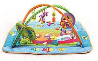 Развивающий коврик с дугами ЗООСАД для новорожденного (Kick Play Activity Gym) Tiny Love, арт. 1200200680