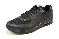 Кроссовки мужские  Nike Air Max сетка черные (найк аир макс)(р.42,44)