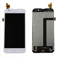 Оригинальный дисплей (модуль) + тачскрин (сенсор) для Zopo C2 | C3 | ZP980 | ZP980+ (белый цвет)