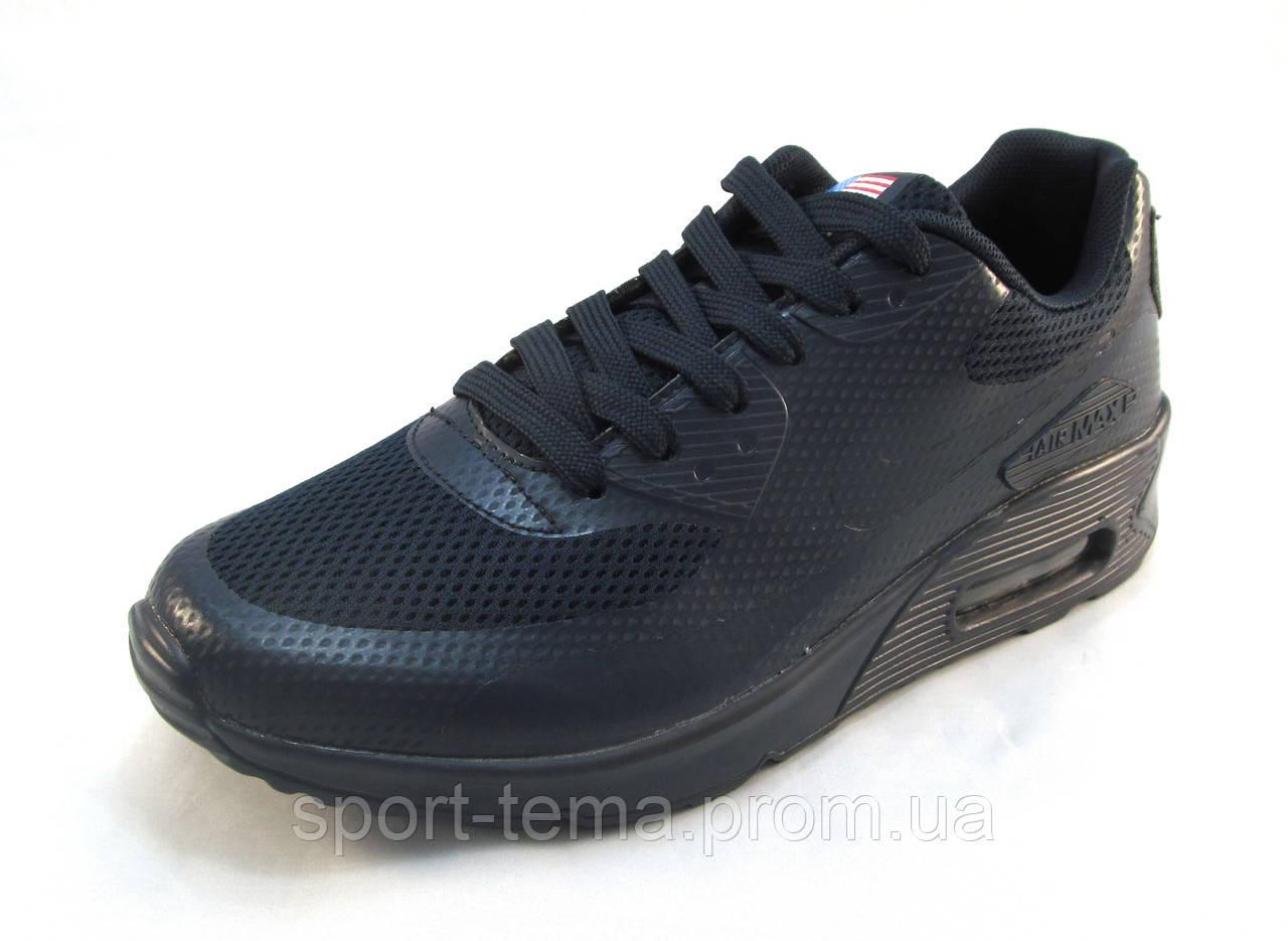 a022fe60 Кроссовки Мужские Nike Air Max Сетка Синие (найк Аир Макс)(р.41,42 ...