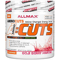 ALLMAX Nutrition, A:Cuts, энергетический напиток с аминокислотами, ягоды годжи-мартини, 7,4 унций (210 г)