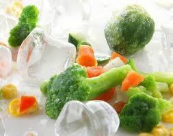 Овощи весовые замороженные