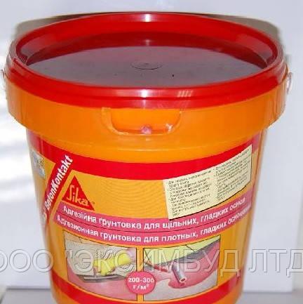 Sika BetonKontakt - грунтовка образующая слой повышенного сцепления с отделочными материалами 4.5 кг. кг.