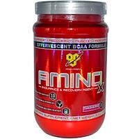 BSN, Амино X, шипучий состав с BCAA, со вкусом арбуза, 15.3 унций (435 г)