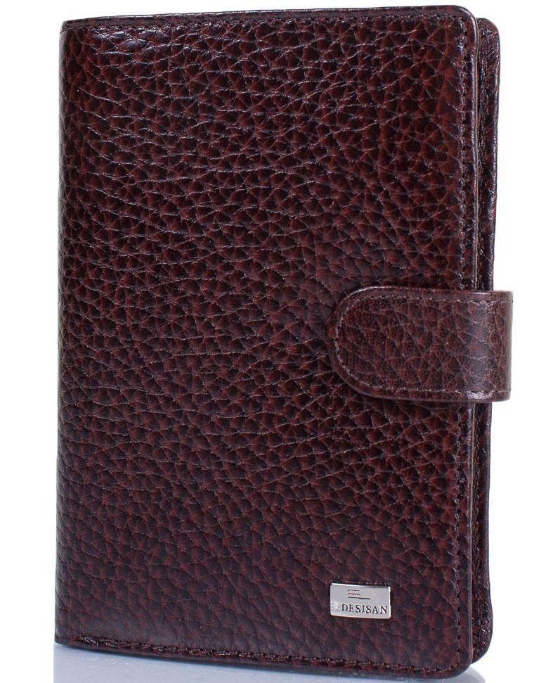Мужское кожаное портмоне Desisan Shi081-019