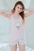 Женская пижама Мороженое , фото 1