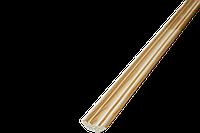 Плінтус для стелі декор Сосна в/г 25*25*2500 зрощ