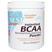 Doctors Best, Аминокислота BCAA в виде растворимого порошка, 300 г