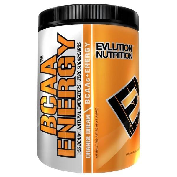 EVLution Nutrition, BCAA Energy, Orange Dream, Net Wt 10.1 oz (285 g) 30 Servings