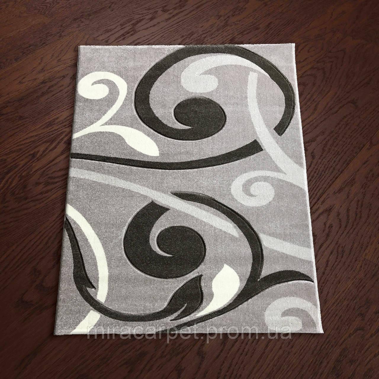 Серый ковер для зала