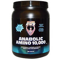 Healthy N Fit, Anabolic Amino 10,000, 360 таблеток