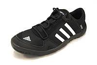 Кроссовки мужские  Adidas Clima Cool DAROGA текстиль, черные (р.41,43,44)