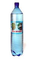 """Минеральная лечебно -столовая вода """"Лужанская - 7""""   1.5 л."""