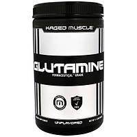 KagedMuscle, Глутамин, без ароматизаторов, 1,1 фунта (500 г)