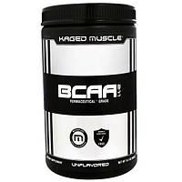 KagedMuscle, Аминокислоты с разветвленными боковыми цепями (BCAA) в соотношении 2:1:1, без ароматизаторов, 14,1 унции (400 г)
