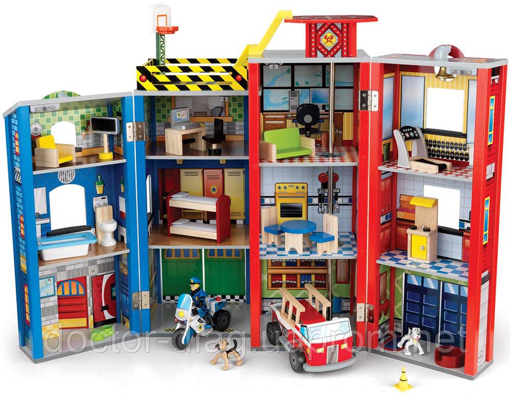 KidKraft Игровой набор KidKraft Здание спасательной службы (63239)