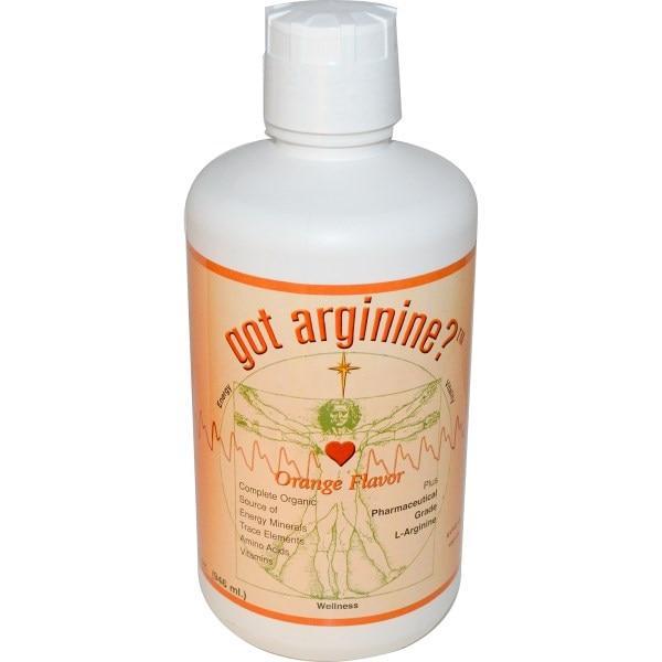 Morningstar Minerals, Got Arginine?, апельсиновый аромат, 946 мл