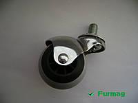 Ролик мебельный круглый Ø40 мм со штифтом