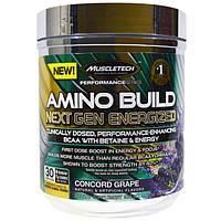 Muscletech, Amino Build Next Gen Energized, груша Конкорд, 280 г (9,86 унций)