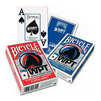Покерные карты Bicycle WPT Jumbo Index