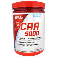 MET-Rx, Аминокислоты с разветвленной цепью 5000 в порошке, без вкусовых добавок, 10.58 унций (300 г)