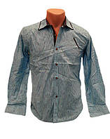 Стильна  сорочка для  хлопчика  8-14 років Blueland
