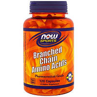 Now Foods, Аминокислоты с разветвленными боковыми цепями, 120 капсул