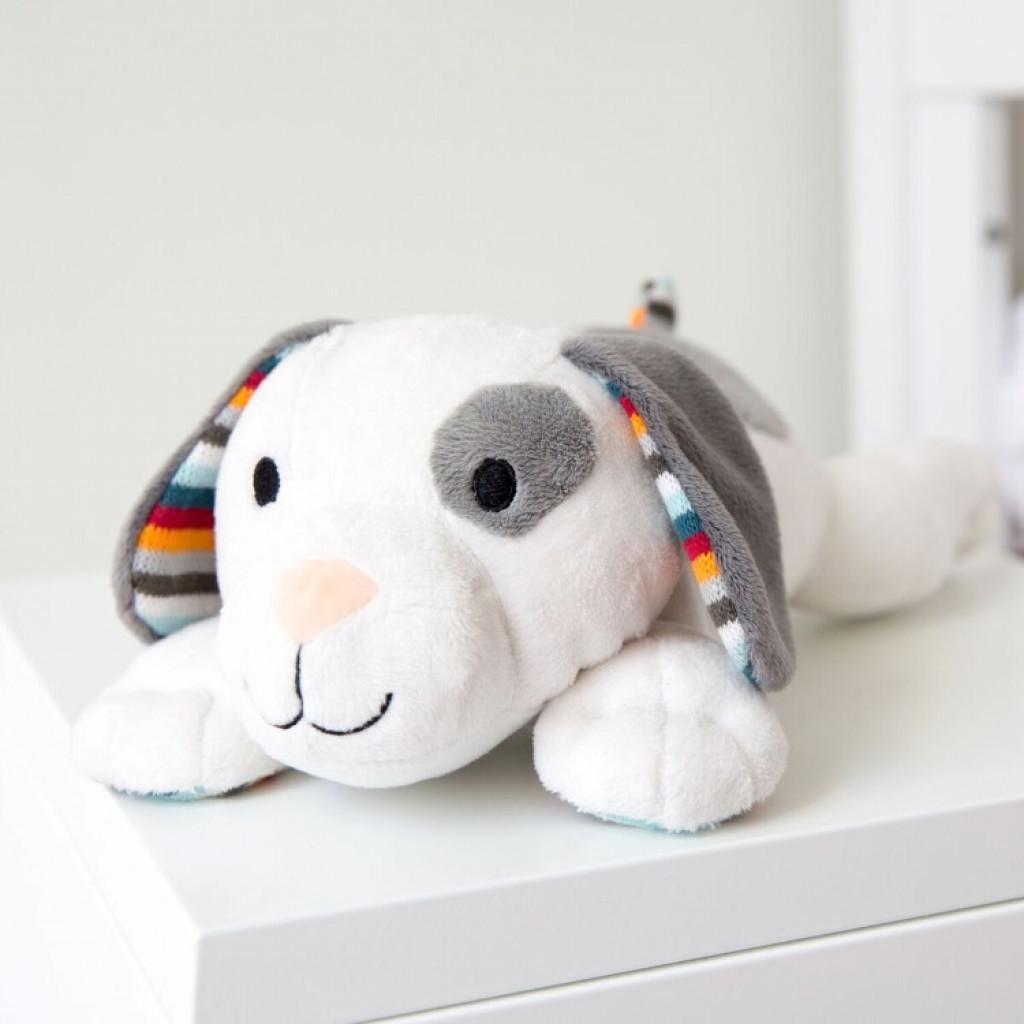 Мягкая игрушка для новорожденных, имитирующая сердцебиение мамы, «Собачка Dex», Zazu