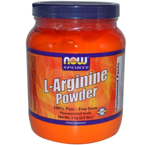 Now Foods, L-аргинин в порошке, 1 кг (2,2 фунта)