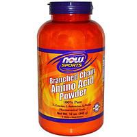 Now Foods, Sports, порошок аминокислот с разветвленной цепью, 340 г