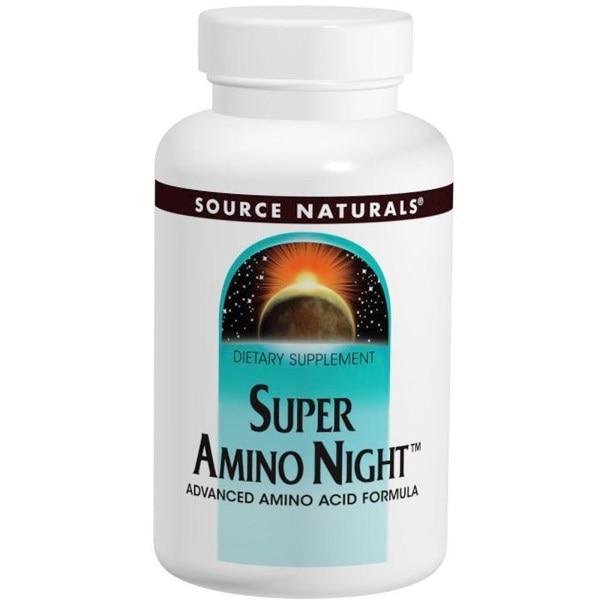 Source Naturals, Super Amino Night, 240 таблеток