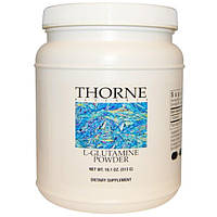 Thorne Research, Порошок L-глютамина, 13,5 унций (383 г)
