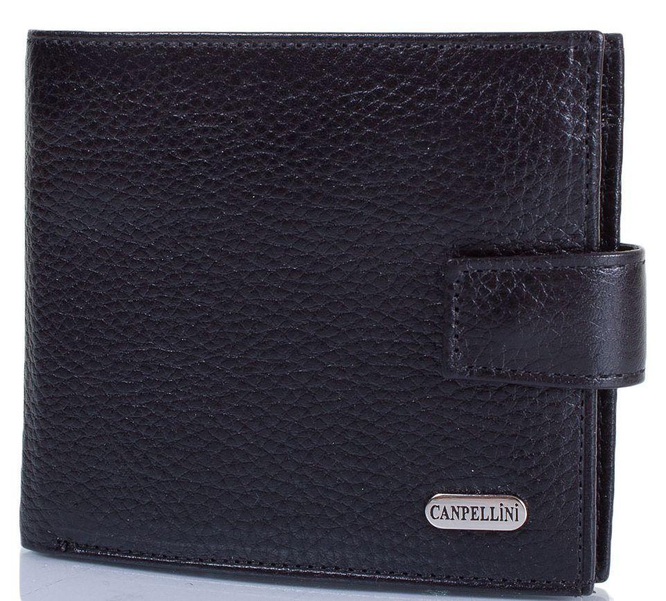 Удобный мужской кошелек из кожи CANPELLINI SHI223-7