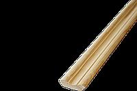 Плінтус Сосна фігур 1г 35*35*2500,3000мм/зрощ