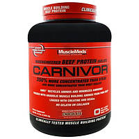 MuscleMeds, Carnivor, Bioengineered Beef Protein Isolate, Chocolate, 4.5 lbs (2,038.4 g)