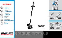 Машина шлифовальная для поверхностной обработки гипса 600Вт, GRAPHITE 59G261, Шланг 59G261-147.
