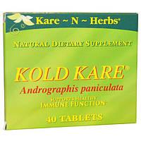 Kare n Herbs, Пищевая добавка Забота при простуде, 40 таблеток