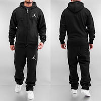Мужской спортивный костюм Air Jordan черный