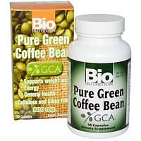 Bio Nutrition, Чистый зеленый кофе в зернах, 800 мг, 50 капсул