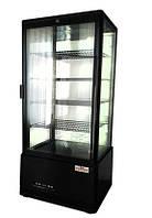 Шкаф-витрина холодильная FROSTY RT98L-3 black (черный)