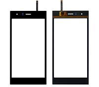 Оригинальный тачскрин / сенсор (сенсорное стекло) для Nomi i500 Sprint (черный цвет)