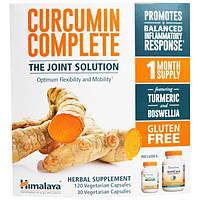 Himalaya Herbal Healthcare, Полный куркумин, глютен, 120 вегетарианских капсул + 30 вегетарианских капсул