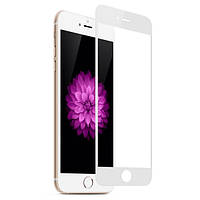 Защитное стекло 4D Full Cover для IPhone 7/8 White (Screen Protector 0,3 мм)