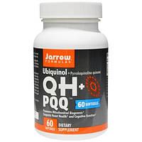 Jarrow Formulas, Убихинол, QH+ PQQ, 60 желатиновых капсул