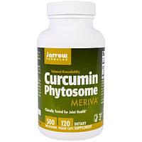Jarrow Formulas, Meriva, фитосомы куркумина, 500 мг, 120 капсул в растительной оболочке